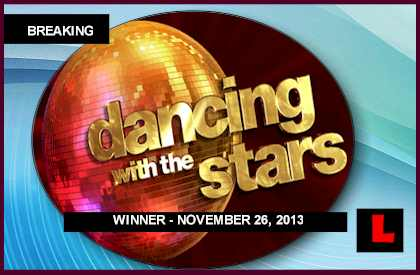 Dancing with the Stars Winner 2013 Revealed in DWTS Results Tonight who won november 26, 2013 11-26-13