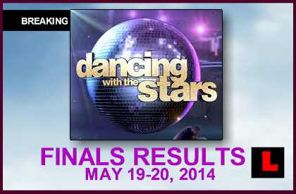 Dancing with the Stars Results 2014 Reveal DWTS Elimination Tonight 5/19/14 may 19, 2014 who got eliminated sent home finals winner