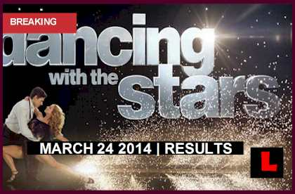 Dancing with the Stars march 24 2014 3/24/14 sent home Elimination Results Tonight: Pair Sent Home