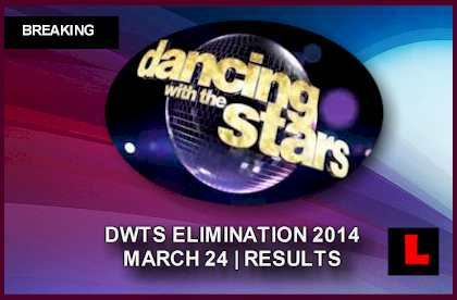 Dancing with the Stars 2014: Elimination Results Tonight March 24 Shock DWTS sent home march 24, 2014 3/24/14 eliminated