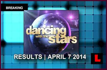 Dancing with the Stars 2014 Results Tonight Prompt No DWTS Elimination april 7, 2014 4/7/14