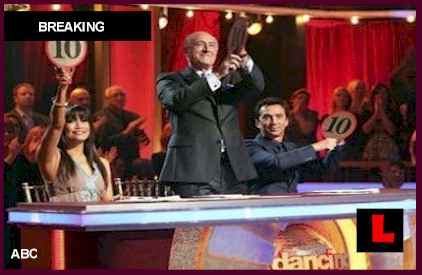 Dancing with the Stars Results Tonight 2012 Prompt Elimination for Gavin DeGraw 