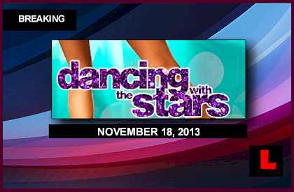 Dancing with the Stars 2013 Results Tonight Prompt november 18, 2013 11-18-13 DWTS Elimination Leah Remini