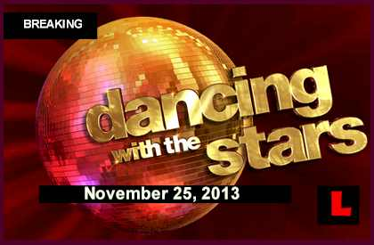 Dancing with the Stars 2013 Results Tonight Prompt November 25, 2013 11-25-13 winner wins DWTS Elimination