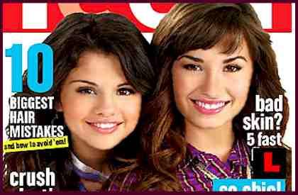 Demi Lovato Selena Gomez Teen Magazine