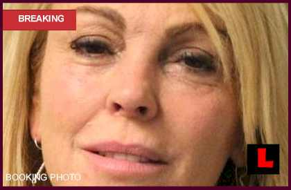Dina Lohan Mugshot Photo, Lindsay Lohan Mother Arrested
