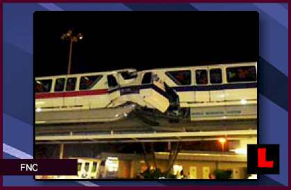 Disney Monorail Crash Video Orlando WKMG