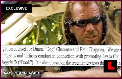 Dog the Bounty Hunter Threatens to Sue Lyssa Chapman Mgr: EXCLUSIVE