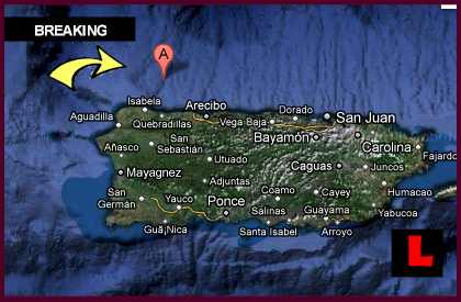 Dominican Republic Earthquake Followed By Puerto Rico