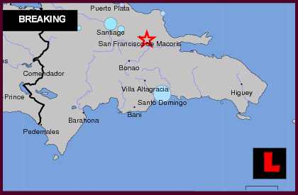 Dominican Republic Earthquake Today 2013: Terremoto Downgraded by Red Sísmica de puerto rico