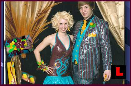 Tux Prom Dress Duct Tape Wear