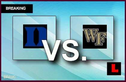 Wake Forest vs. Duke 2014 Score Ignites College Basketball Tonight live score results today