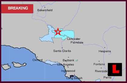 Southern California Earthquake Today 2013 Erupts Near Lancaster