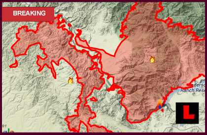 Elk Fire Map 2013 Grows As Beaver Creek Papoose Pony Fires Burn
