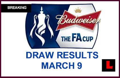 FA Cup Draw Results 2014 Reveal Semifinals Schedule, Games for Arsenal march 9, 2014 manchester city live start time