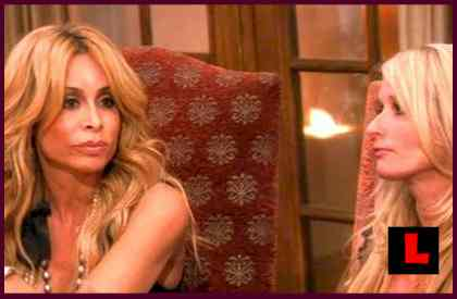 Faye Resnick and Camille Grammer Battle Playboy Accusations on RHOBH