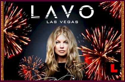 Fergie Lavo Las Vegas New Years