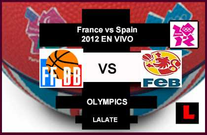 France vs Spain 2012: Parker Battles Gasol for Olympics Bid