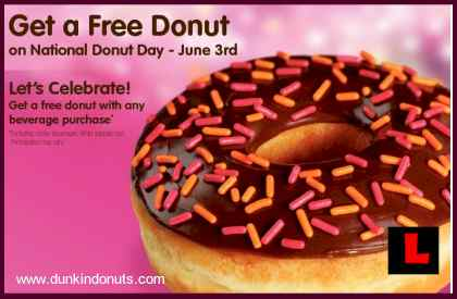 Dunkin Donuts, Krispy Kreme Celebrate National Doughnut Day