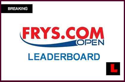 Pga Tour Frys Com Open  Leaderboard