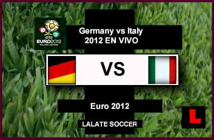 Germany vs Italy Euro 2012 to Battle in Semi-Finals
