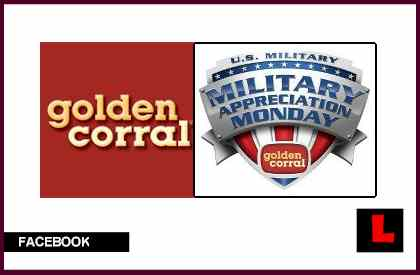 Golden Corral Veterans Meal Salutes Military Appreciation Monday