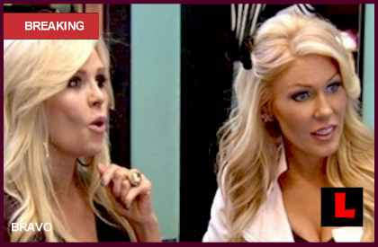 Tamra Barney, Gretchen Rossi Team up for Valentine's Day