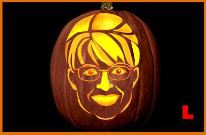 halloween pumpkin sarah palin Sports Pumpkin Carving