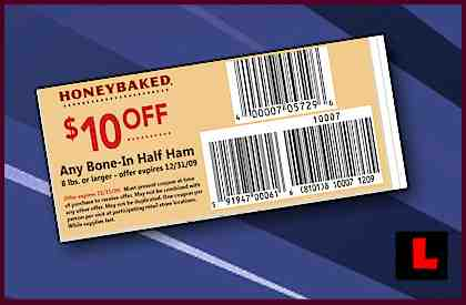 Honeybaked Ham Coupons 2020 Printable.Honey Baked Ham Coupons