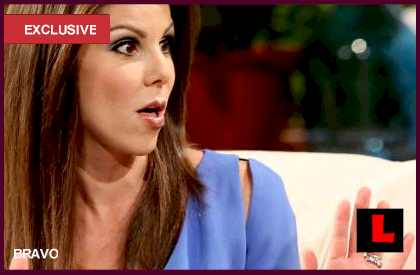 Heather Dubrow Singing at Tamra Barney's Wedding Video Cut: EXCLUSIVE