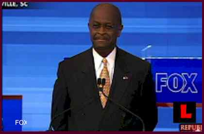 Herman Cain Former Godfather Pizza Man Wins Debate