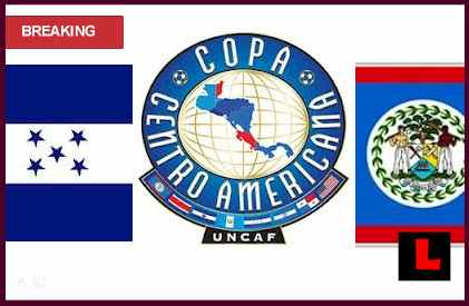 en vivo live score results Honduras vs. Belize 2013 Battle in Copa Centroamericana Today