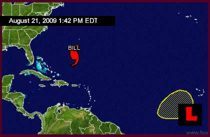 Hurricane Bill 2009