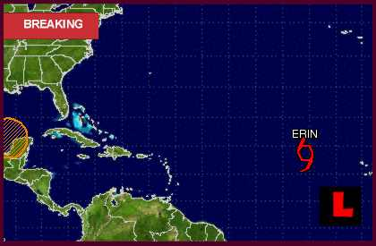 Hurricane Erin 2013? Hurricane Center Projected Path Targets Haiti