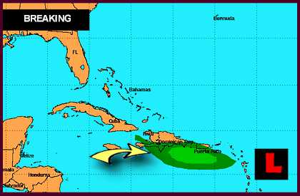 Hurricane Isaac 2012 Projected Path Prompts Puerto Rico Concerns