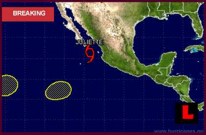 Hurricane Juliette 2013? Hurricane Center Prompts TS Projected Path