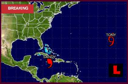 Hurricane Sandy 2012 Projected Path Prompts Florida Tracking Concerns