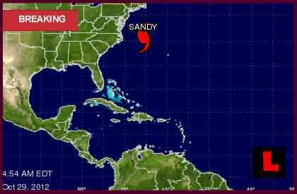 Hurricane Sandy Projected Path Prompts School Closures
