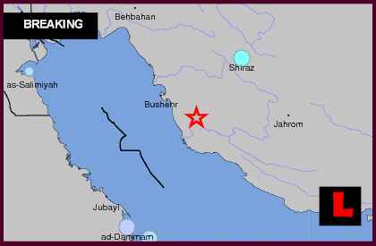 Iran Earthquake Today 2013 - 6.3 Hits Near Saudi Arabia, Bahrain