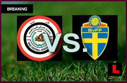 Iraq vs. Sweden 2013 Score Prompts U17 World Cup Battle en vivo live score results today