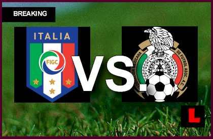 Italy vs. Mexico 2013 Score Heats up Copa Mundial U17 Today