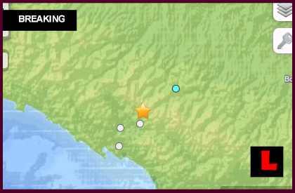Italy Earthquake Today 2013 - 5.1 Strikes Fivizzano