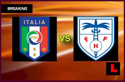 Italy vs. Haiti 2013 Prompts Soccer Friendly Today en vivo live score results today