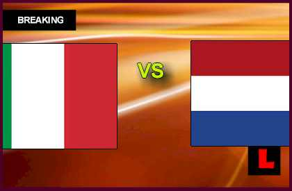 Italy vs. Netherlands U21 2013 Qualifies to Under 21 Semifinals en vivo live score results today