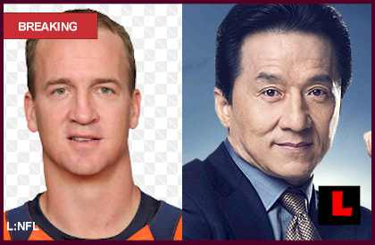 Jackie Chan Not Dead 2013, Culprit Strikes Peyton Manning Too