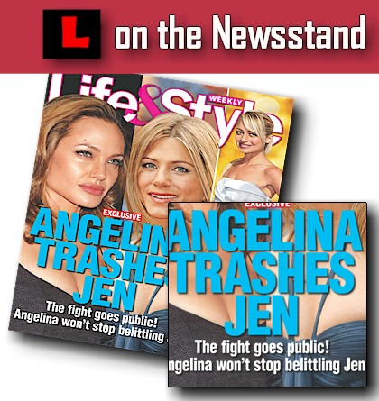 Jennifer Aniston and Angelina Jolie hit the cover of the upcoming Life