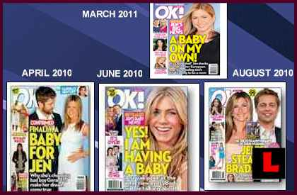 Jennifer Aniston Not Pregnant with Twins Fake Baby Story Resurfaces