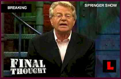 Jerry Springer Not Dead Fake Car Crash Death Story Strikes Host false died 2012