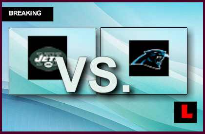 Jets vs. Panthers 2013: Cam Newton Leads Score Drive live score results channel today game
