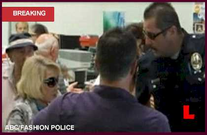 Joan Rivers Costco Handcuffing Prompts (Fashion) Police